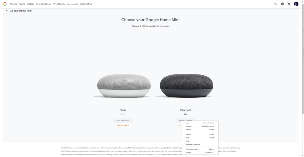 Solved Google Home Mini Out Of Stock Canada Page 3 The Spotify