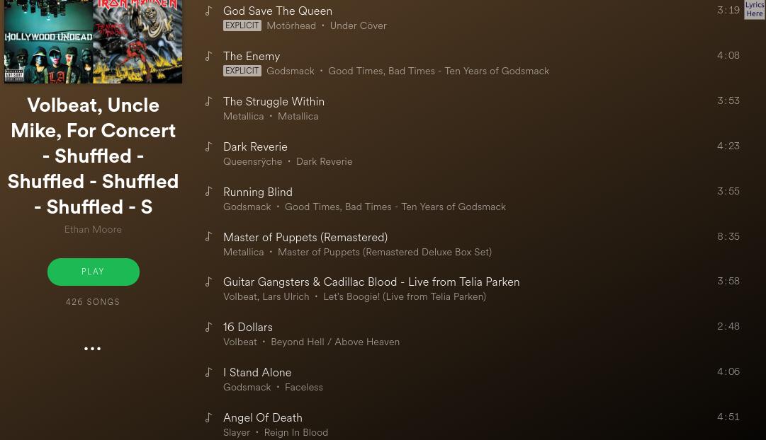Need a workout playlist!! - Page 2 - The Spotify Community