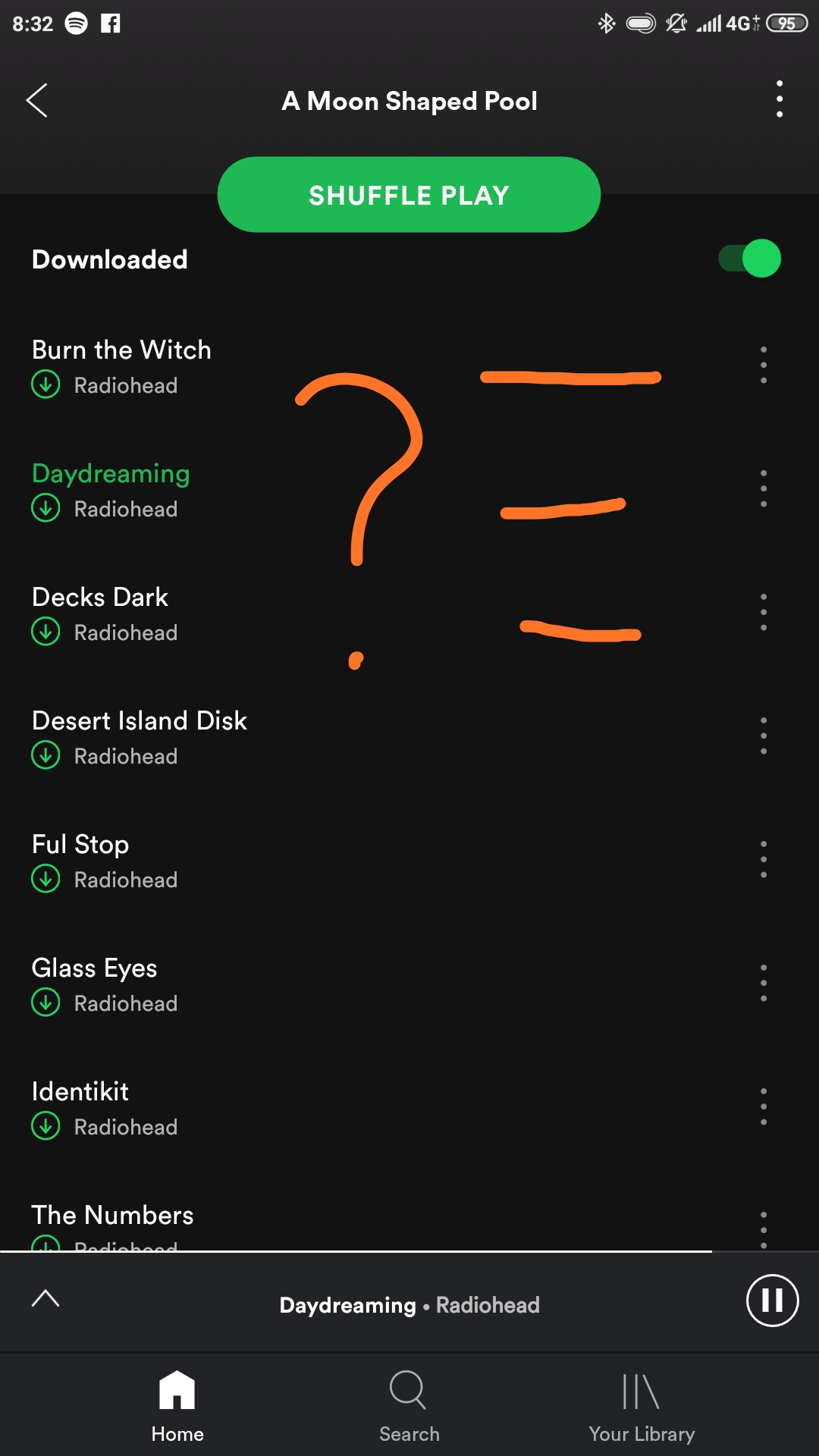 Mobile][Playlists] Timestamps next to song names   The Spotify ...