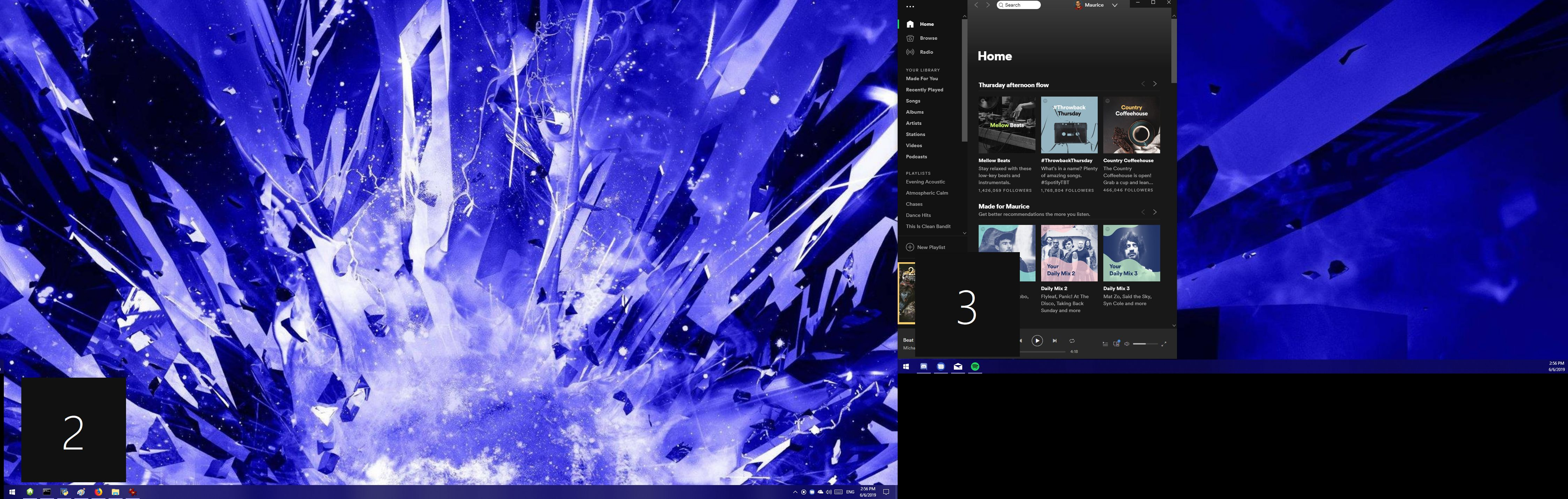 Spotify's taskbar icon on the wrong monitor every     - The
