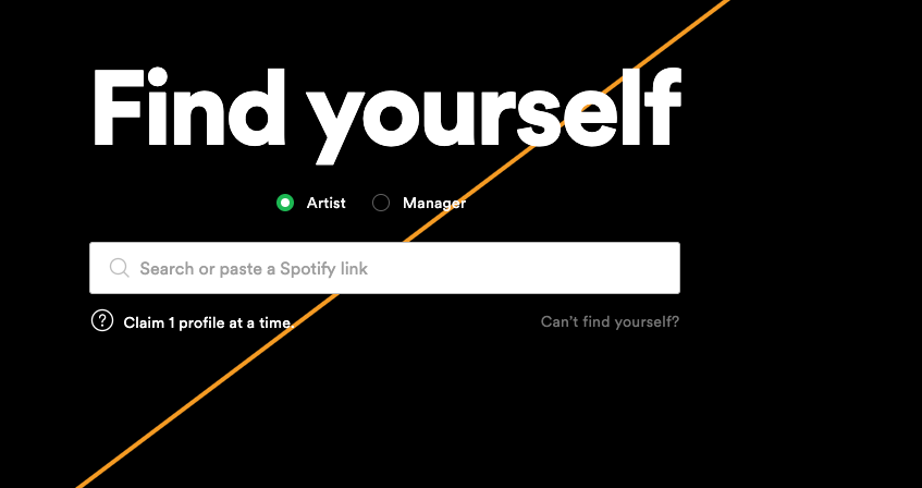 Spotify for Artist Setup? Can't figure this one ou... - The Spotify  Community