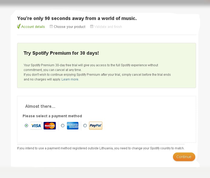 Solved: 30 day free trial - The Spotify Community