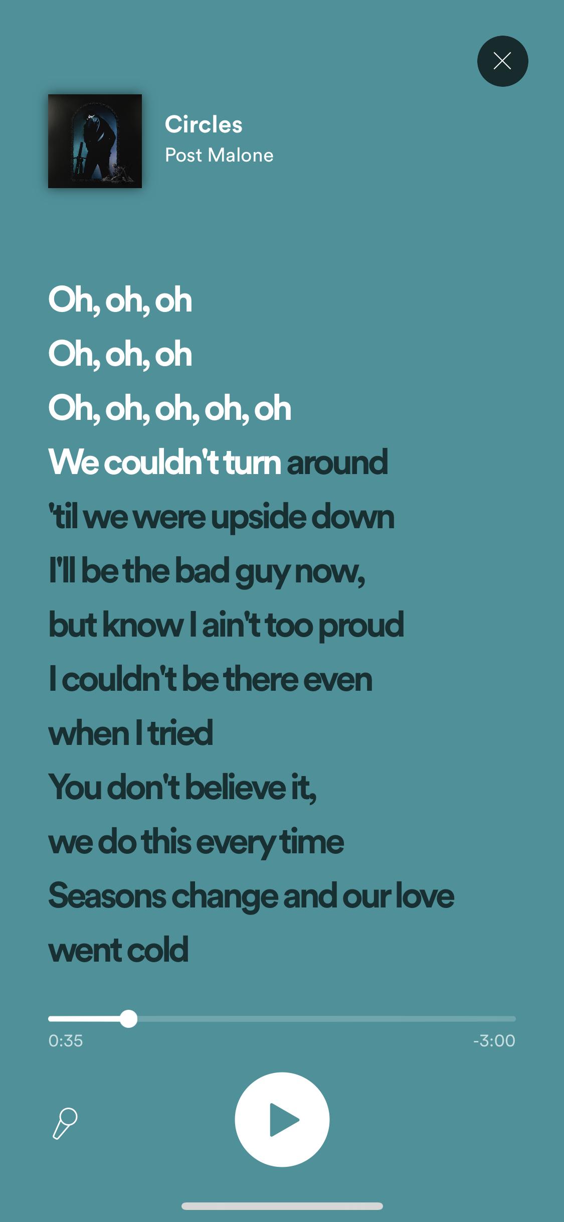 All Platforms] Add time synced lyrics - The Spotify Community