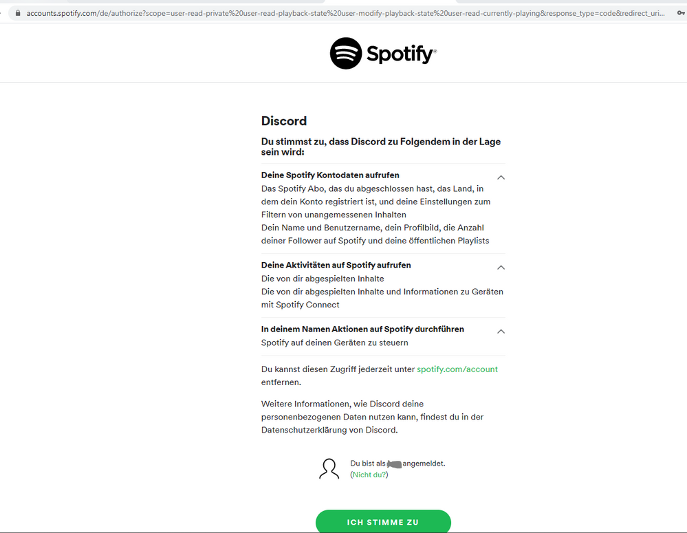 Connecting Reconnecting To Discord The Spotify Community