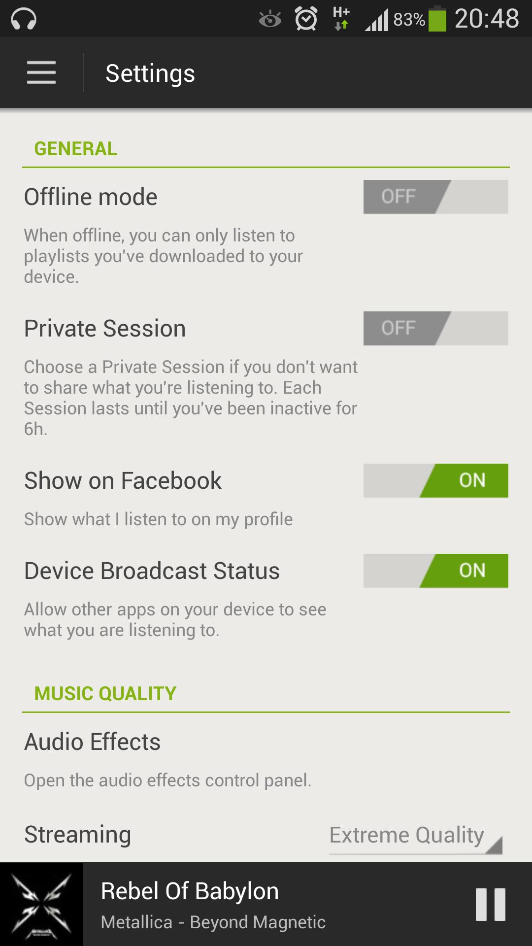 Solved: EQ turns off randomly - The Spotify Community