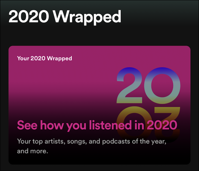 2020 Wrapped Story Not Opening The Spotify Community