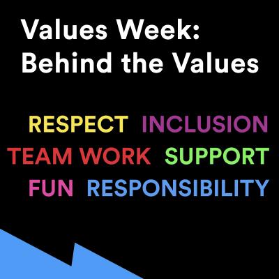 Values Week: Behind the Values