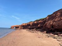 PEI Cliffside Beach