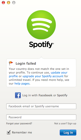 Solved: Log in- error 408 - The Spotify Community