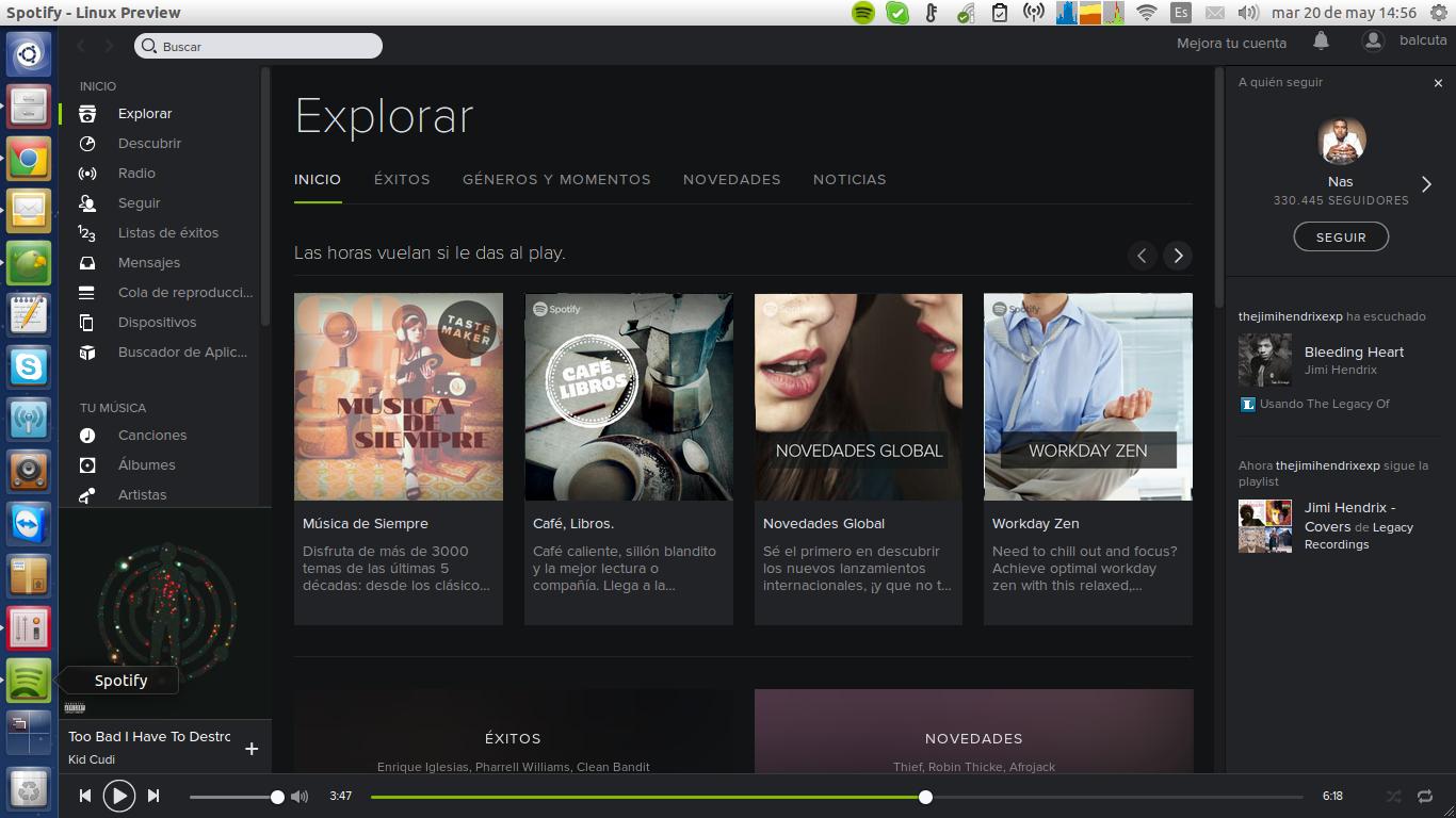 Spotify Ubuntu