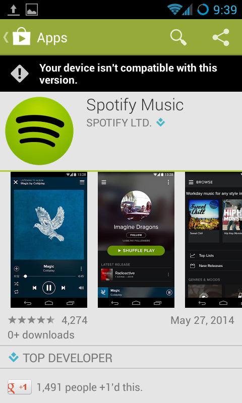 Spotify Music on Google Play