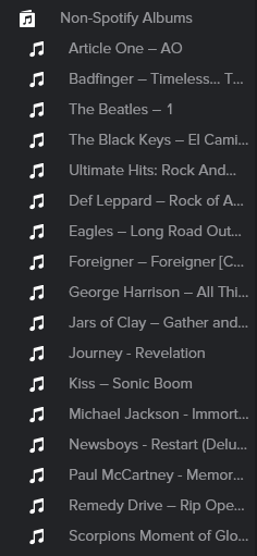 non spotify albums.PNG