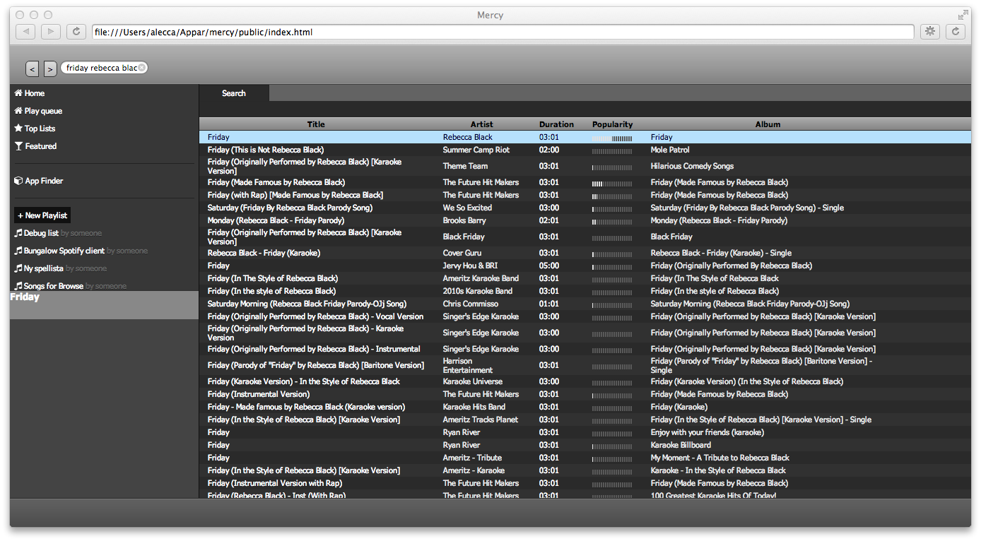 Open Source Spotify client - The Spotify Community