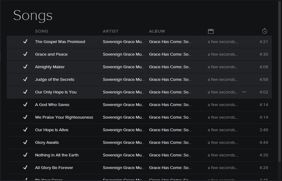 How can i delete my songs on spotify