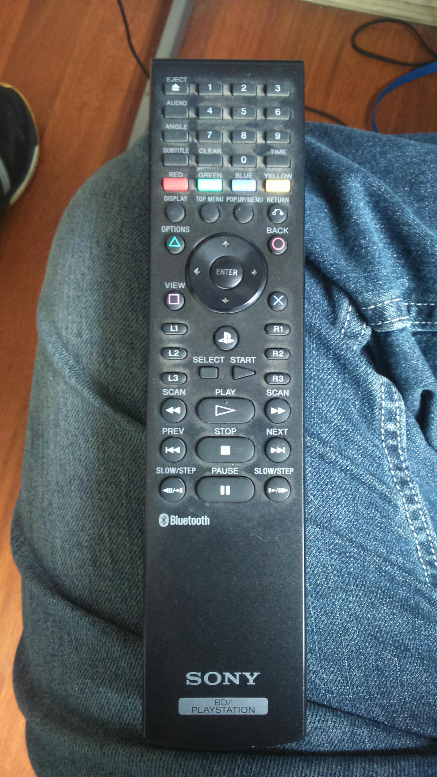 PS3 Remote Control
