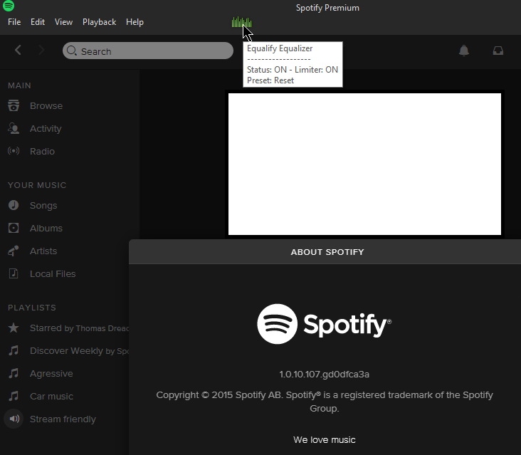 Solved: Select audio output device? - The Spotify Community