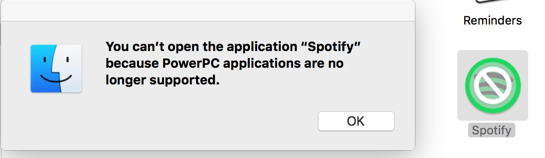 can't launch Spotify for Mac anymore after today's    - The