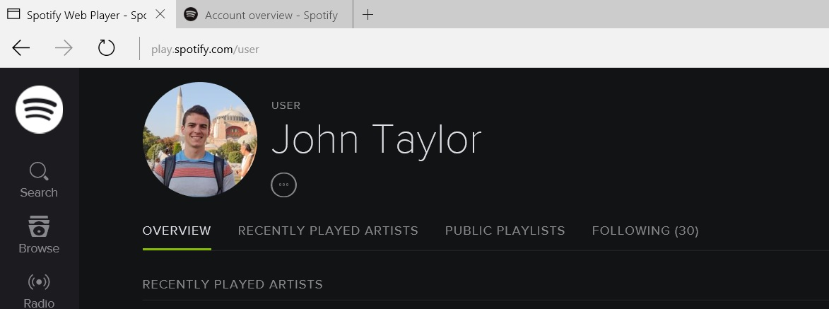 Solved: Can't see profile followers - The Spotify Community