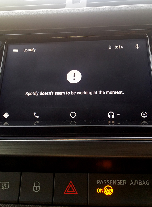 Solved: Android Auto Voice Search Broken - The Spotify Community