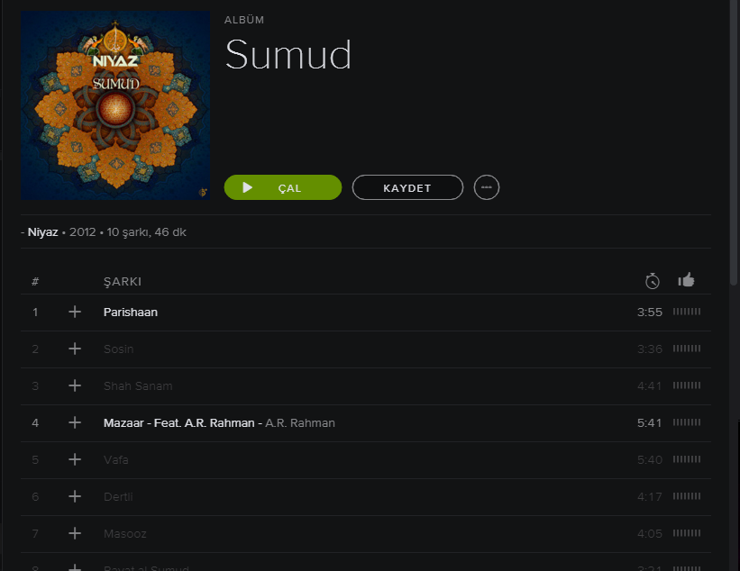Niyaz - Sumud on Spotify.png