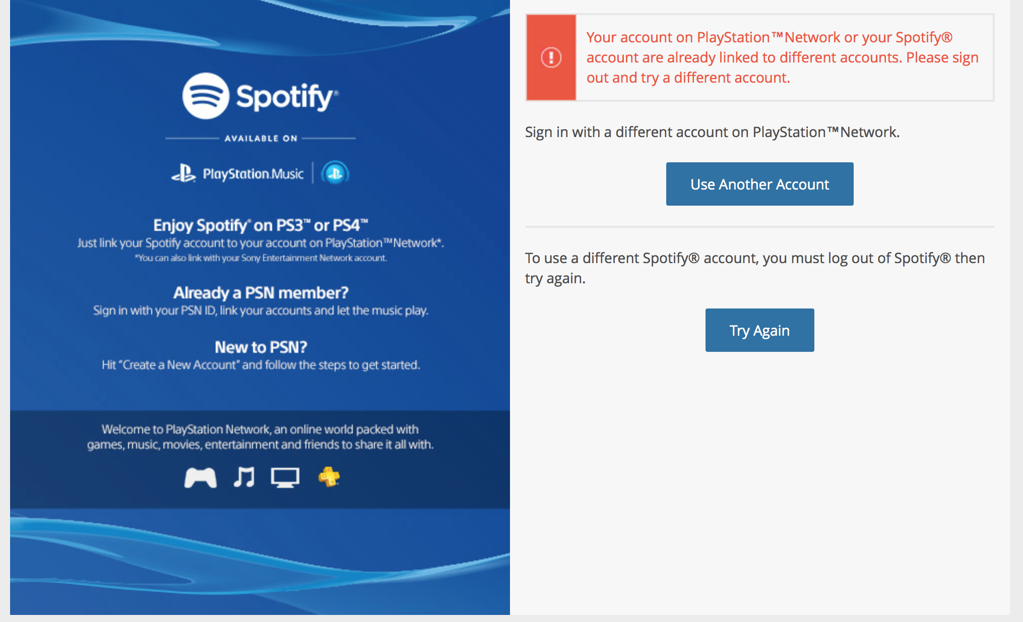 Solved: Unlinking spotify and playstation - The Spotify Community