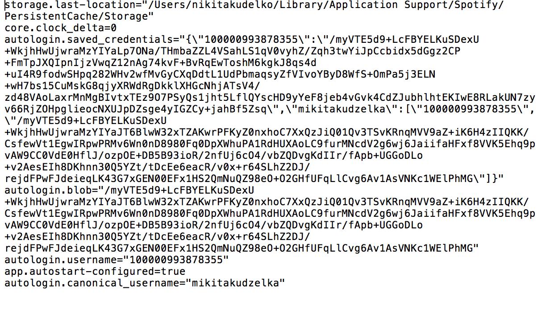 Solved: OSX - blank black screen - The Spotify Community