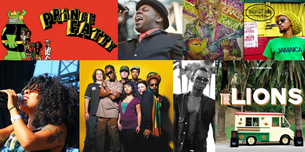 Recent Reggae favorite artists & songs
