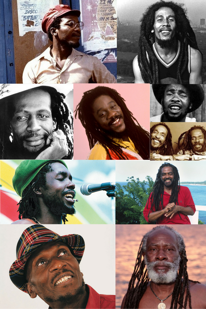 The old school Reggae stars of Jamaican music.