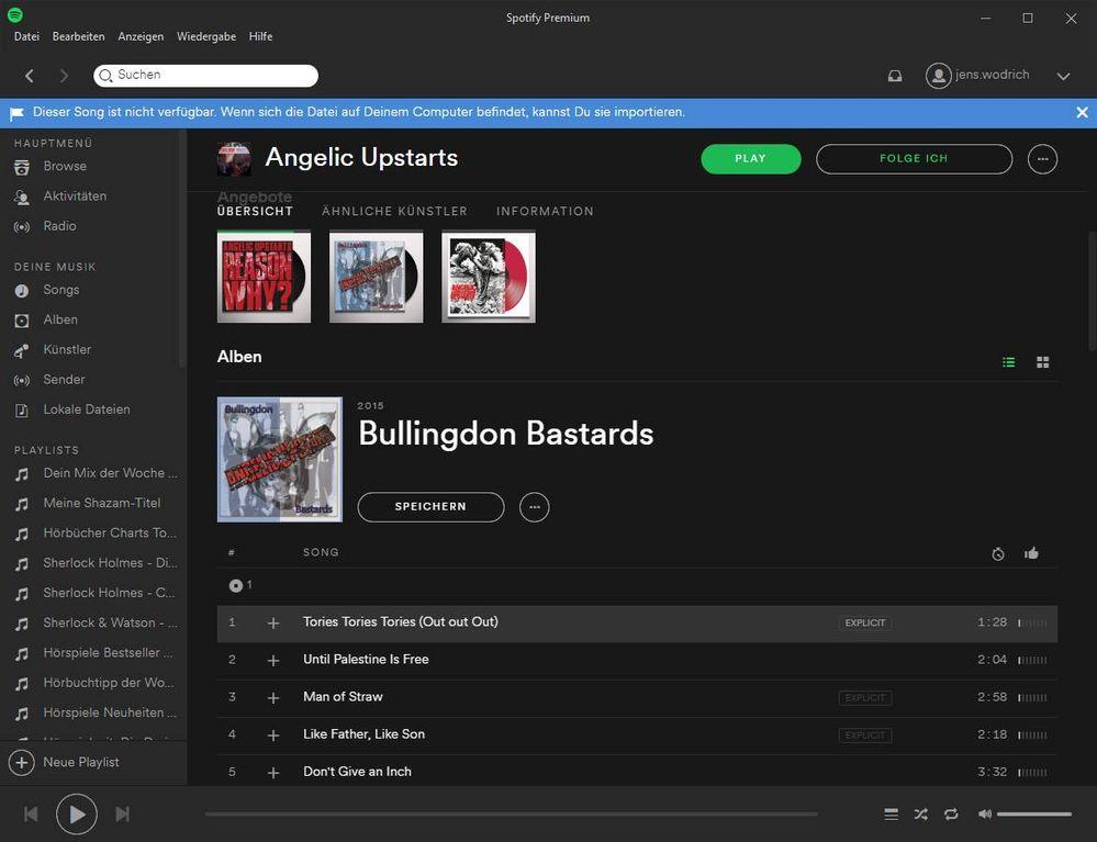 spotify songs runterladen pc