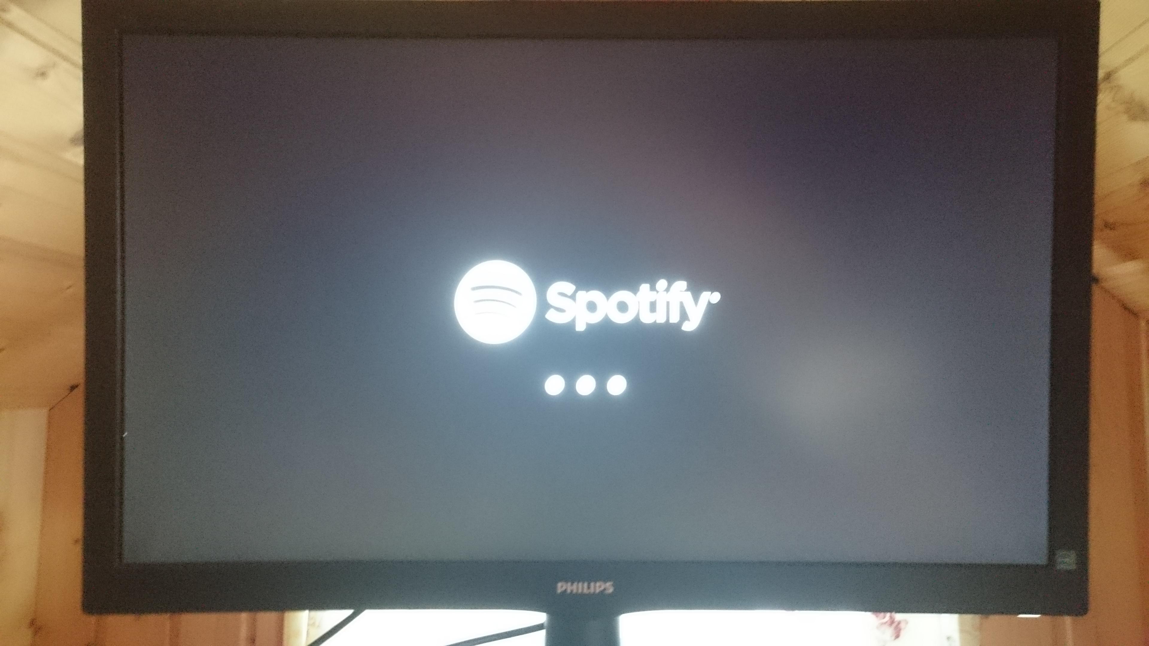 Ps4  Spotify stuck on loading screen - The Spotify Community
