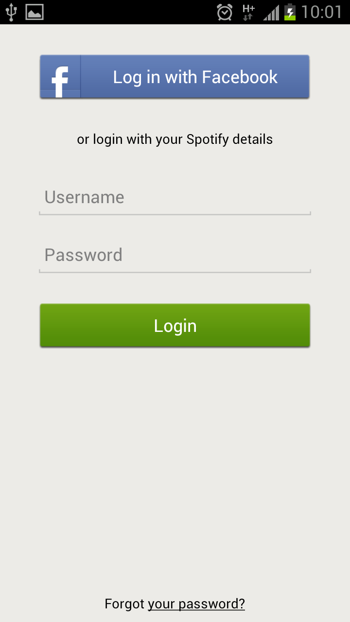 Solved: unable to login in spotify on android - The Spotify Community