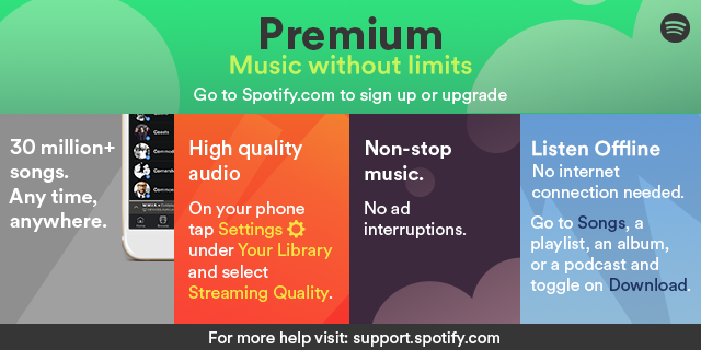 how to get spotify premium with itunes