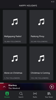 On the Happy Holiday Genre page