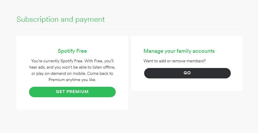 Solved: Premium account identified as free account - The Spotify