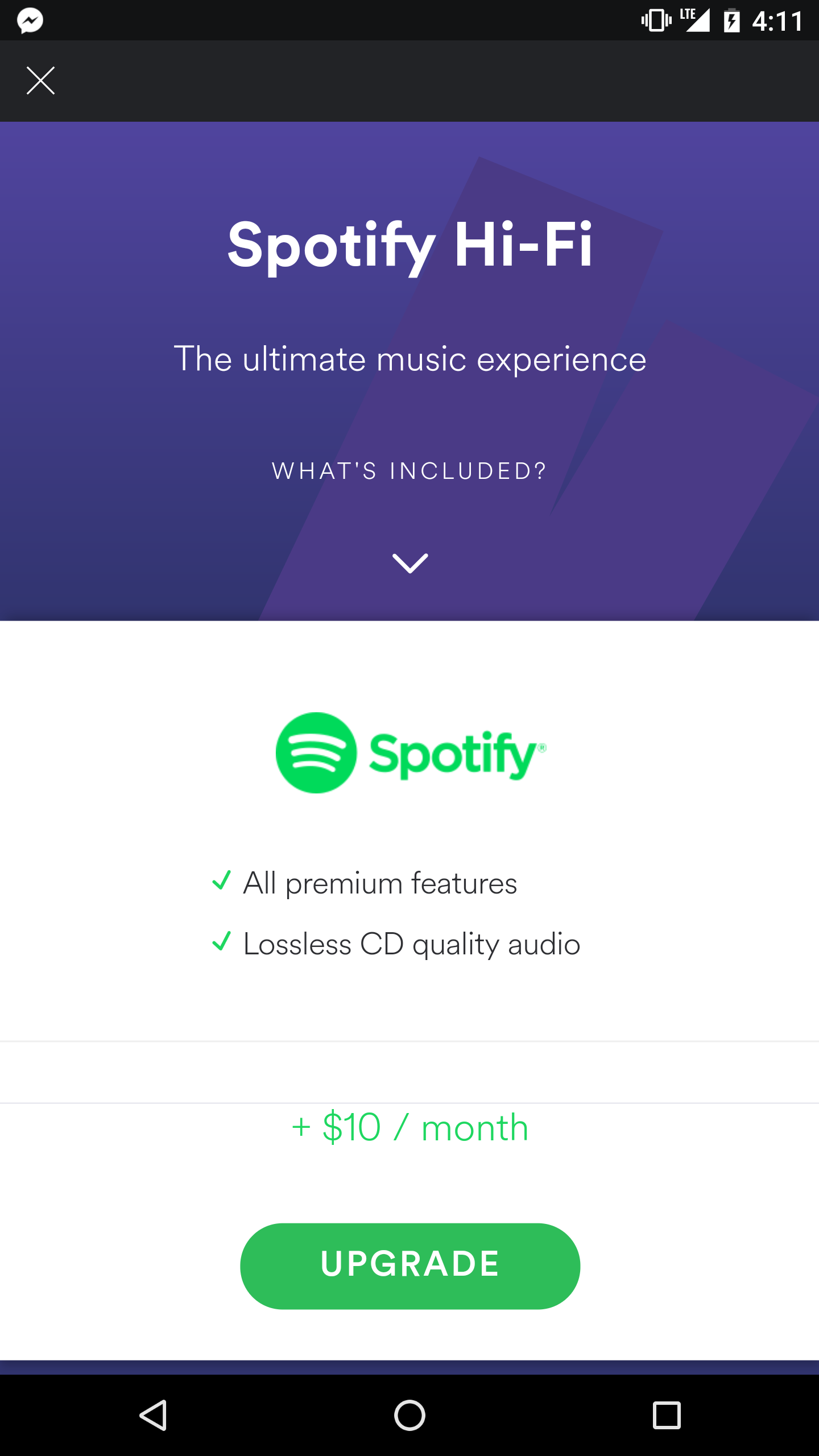 Music] HiFi Quality - Lossless Streaming 16bit 44    - The Spotify