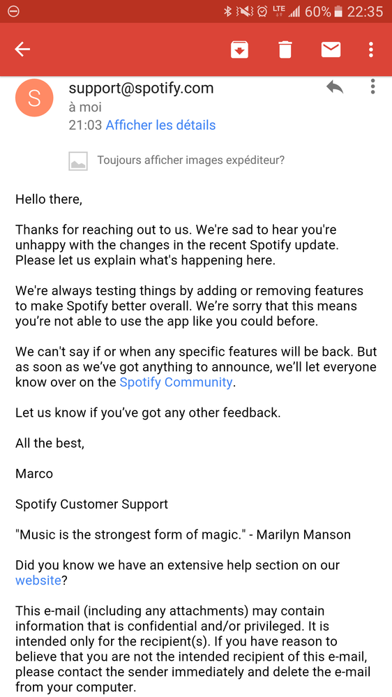 Official response from the support team. :-(