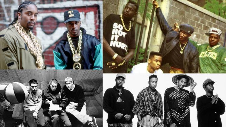 Listen to Jazz & Funk samples in old school Hip-Hop songs.
