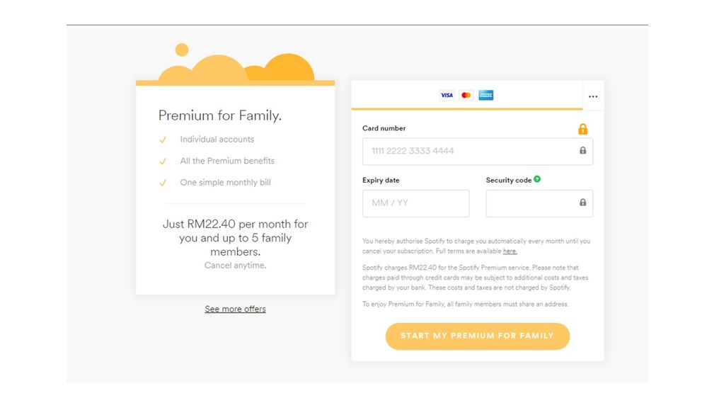 Paypal Payment Plan >> Paypal Payment For Family Plan In Malaysia The Spotify Community