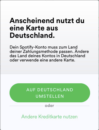 Spotify Karte.Solved Change Country Of Payment The Spotify Community