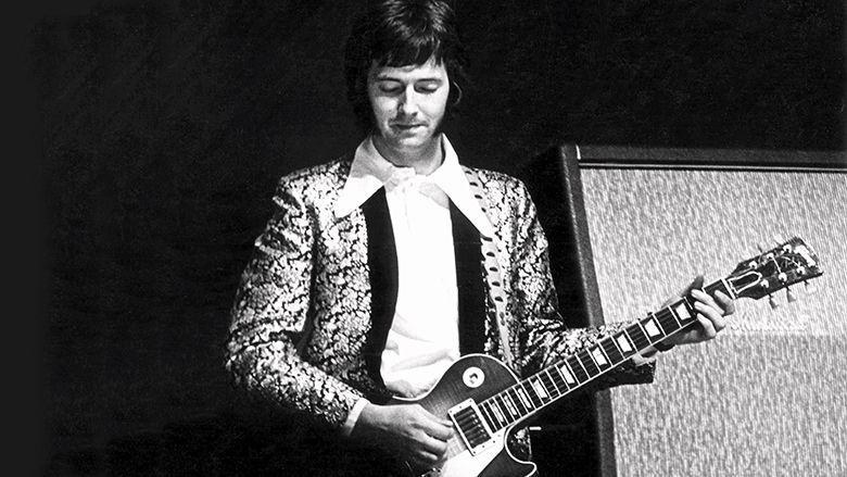 Eric Clapton with the legendary Les Paul?