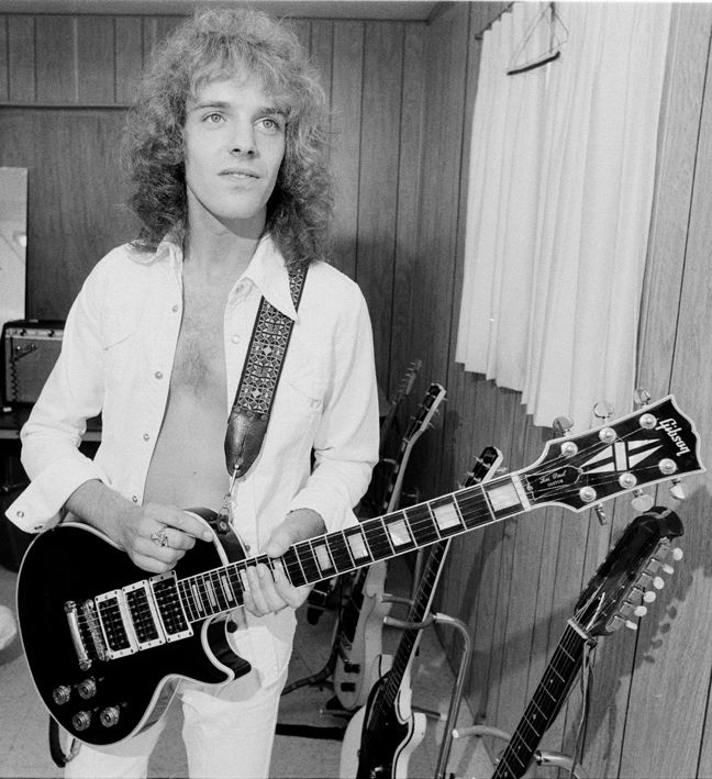 "Peter Frampton with the ""Phenix"" Les Paul"