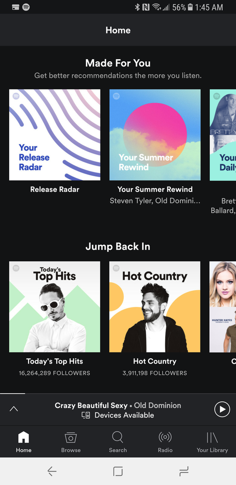 Android] Colored Navigation Bar - The Spotify Community