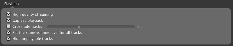 Solved: Feature Request: Cross-Fade - The Spotify Community