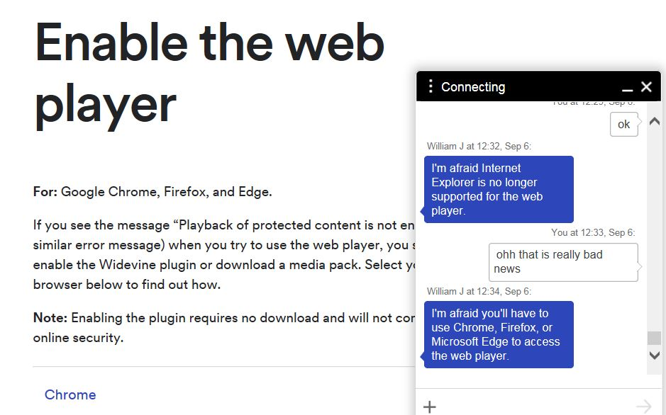 unity web player in chrome
