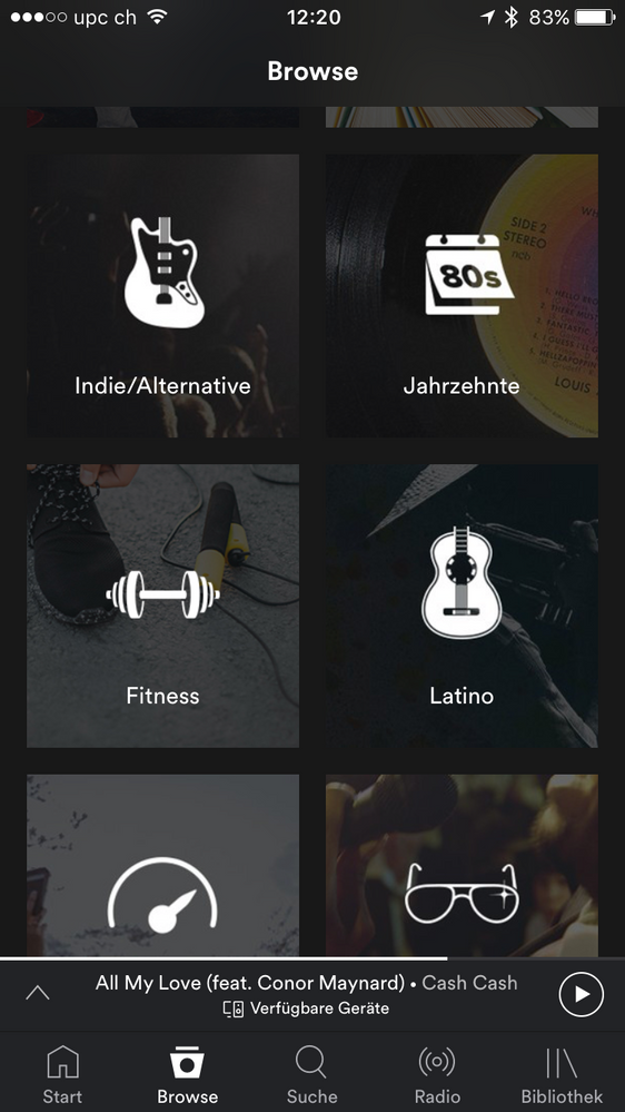 Solved: Running is missing an iOS - The Spotify Community