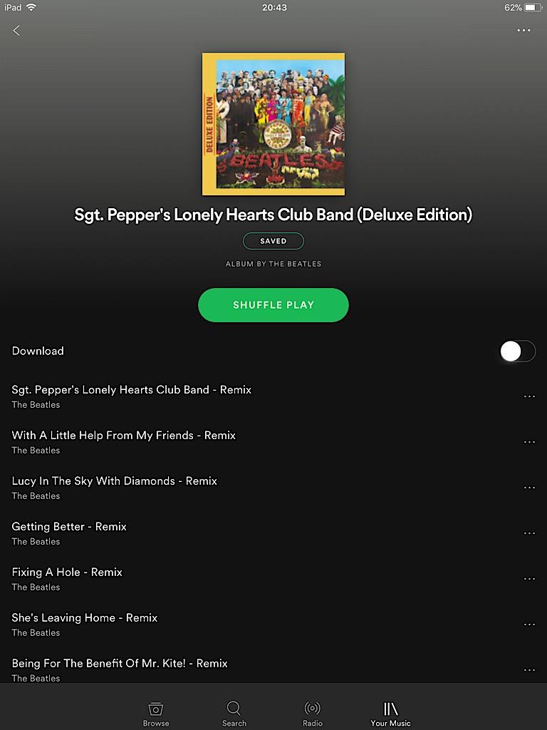 Album artwork pixelated on iOS - The Spotify Community