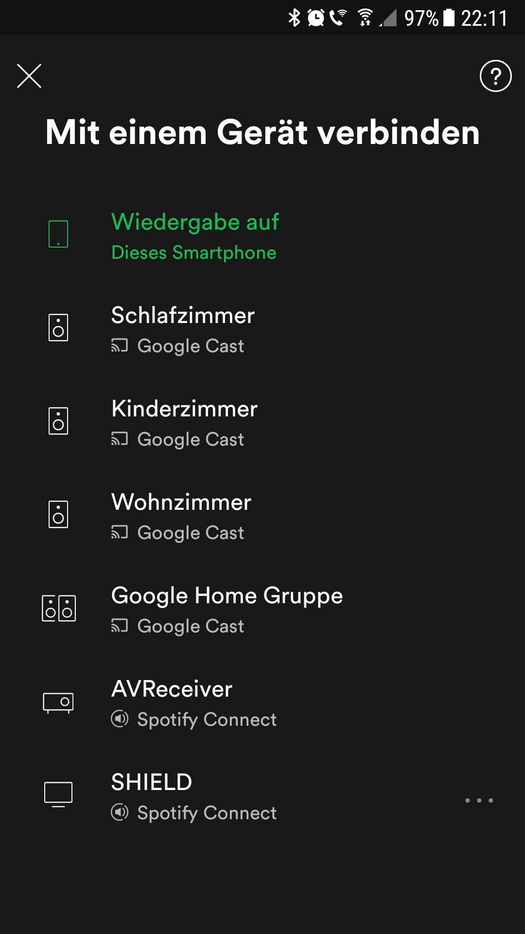 Devices don't appear using Audio Cast and Chromeca    - The