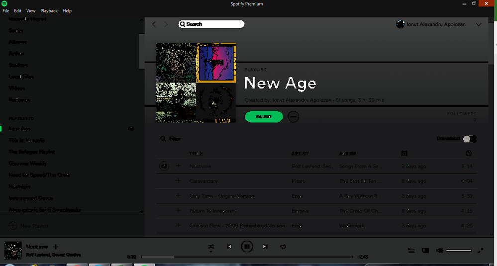 Solved: Pixelated window on Windows 7 - The Spotify Community