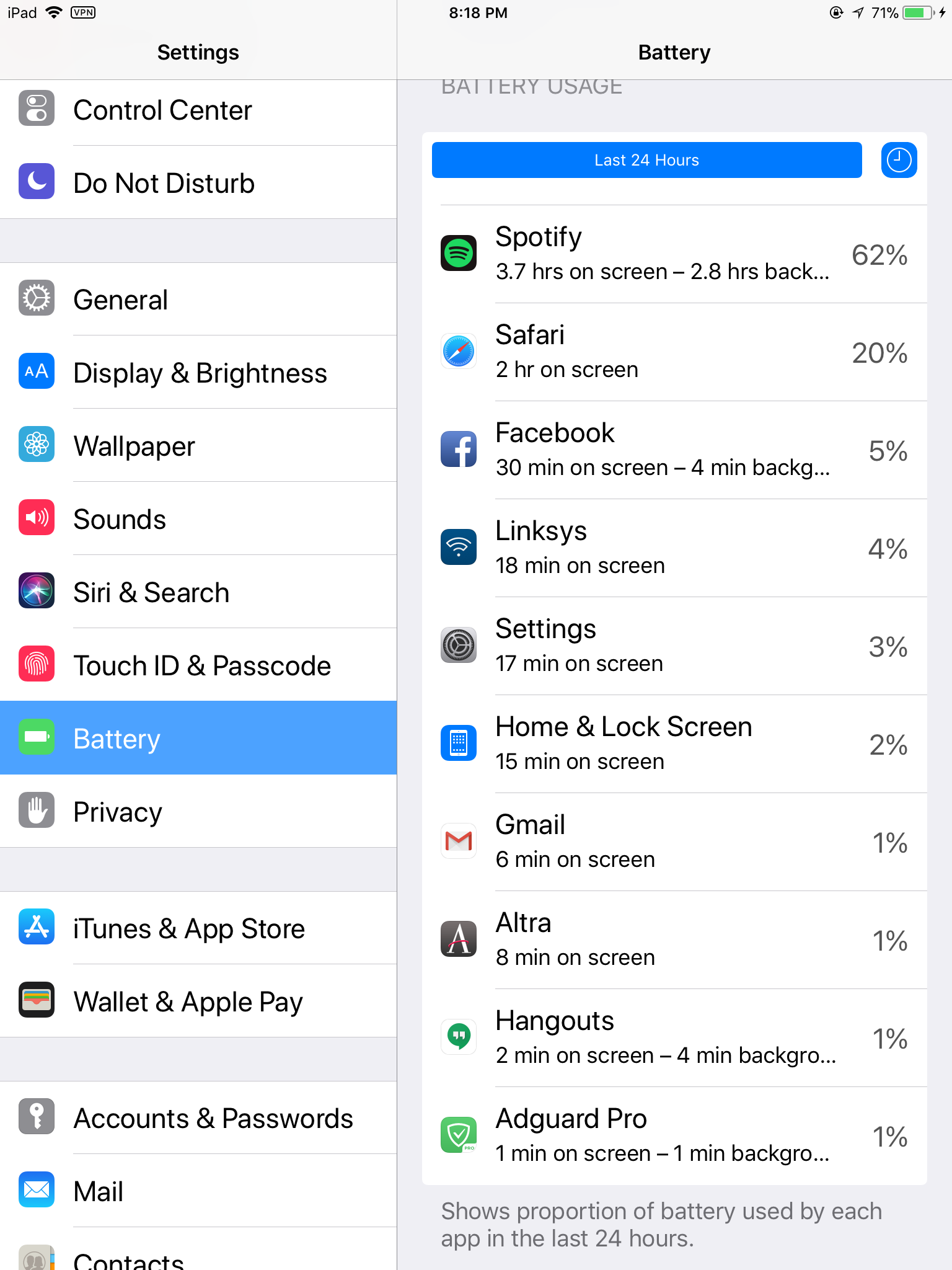 Solved: Spotify causing severe battery drain on iPhone 6S     - The