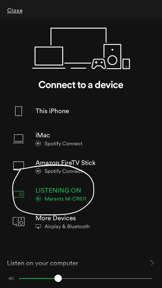Marantz Spotify Connect vs Airplay issue - The Spotify Community